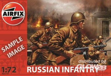 Russische Infanterie · AX 01717 ·  Airfix · 1:72