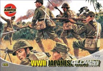 Japanische Infanterie · AX 01718 ·  Airfix · 1:72