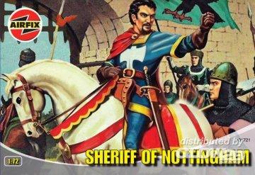 SHERIFF OF NOTTINGHAM · AX 01721 ·  Airfix · 1:72