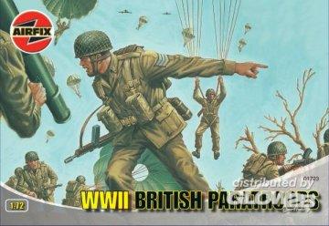 Britische Fallschirmjäger · AX 01723 ·  Airfix · 1:72