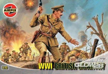 WW.1 BRITISH INFANTRY · AX 01727 ·  Airfix · 1:72
