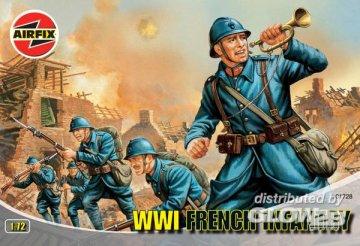 WW.1 FRENCH INFANTRY · AX 01728 ·  Airfix · 1:72