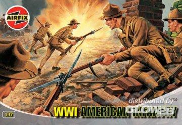 WW.1 U.S. INFANTRY · AX 01729 ·  Airfix · 1:72
