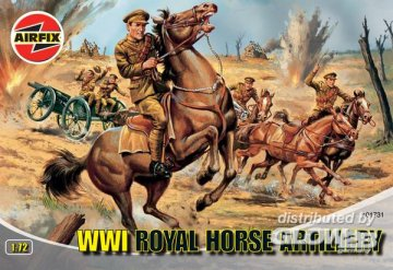 Royal Horse Artillery WW I · AX 01731 ·  Airfix · 1:72
