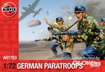 German Paratroops (Re-Release) · AX 01753 ·  Airfix · 1:72