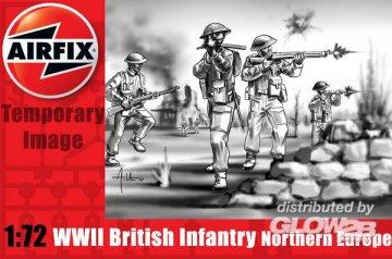 WWII British Infantry Northern Europe · AX 01763 ·  Airfix · 1:72