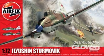 Ilyushin Sturmovik · AX 02013 ·  Airfix · 1:72