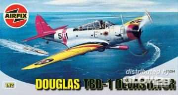 Douglas TBD-1 Devastator · AX 02034 ·  Airfix · 1:72
