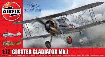 Gloster Gladiator · AX 02052 ·  Airfix · 1:72