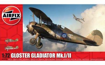Gloster Gladiator Mk.I/MK.II · AX 02052A ·  Airfix · 1:72