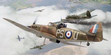 Boulton Paul Defiant · AX 02069 ·  Airfix · 1:72