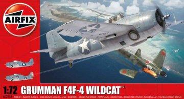 Grumman Wildcat F4F-4 · AX 02070 ·  Airfix · 1:72