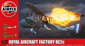 Royal Aircraft Facility BE2C · AX 02101 ·  Airfix · 1:72