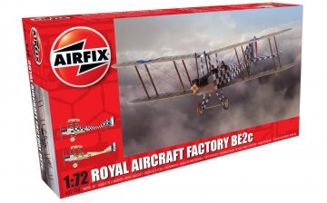 Royal Aircraft Factory BE2c Scout · AX 02104 ·  Airfix · 1:72