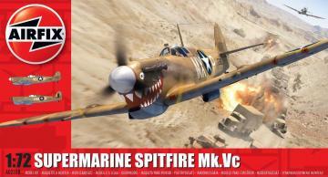 Supermarine Spitfire Mk.Vc · AX 02108 ·  Airfix · 1:72