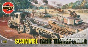 Panzertransporter Scammel · AX 02301 ·  Airfix · 1:76
