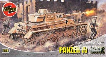 Panzer IV · AX 02308 ·  Airfix · 1:76