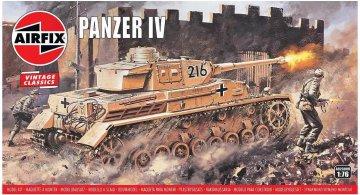 Panzer IV F1/F2, Vintage Classics · AX 02308V ·  Airfix · 1:76