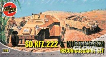 German Reconnaissance Set · AX 02312 ·  Airfix · 1:76