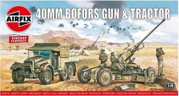 Bofors 40mm Gun & Tractor,Vintage Classics · AX 02314V ·  Airfix · 1:76