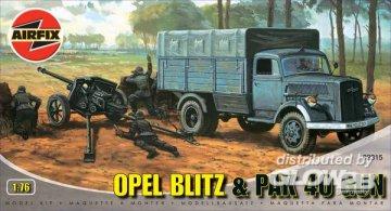 Opel Blitz & PAK 40 Gun · AX 02315 ·  Airfix · 1:76