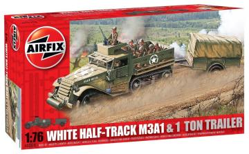 Half Track M3 · AX 02318 ·  Airfix · 1:76
