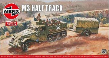 M3 Half Track & 1 Ton Trailer, Vintage Classics · AX 02318V ·  Airfix · 1:76