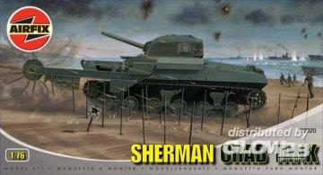 Shermann Crab Tank · AX 02320 ·  Airfix · 1:76