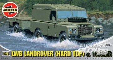 LWB Landrover & Trailer · AX 02324 ·  Airfix · 1:76