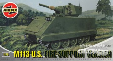 M113 U.S. FIRE SUPPORT VERSION · AX 02327 ·  Airfix · 1:76