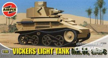 VICKERS LIGHT TANK · AX 02330 ·  Airfix · 1:76