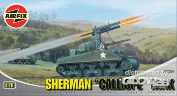 Sherman ´´Calliope´´ Tank · AX 02334 ·  Airfix · 1:76