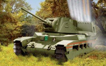 Matilda Hedgehog Tank - Vintage Classics · AX 02335V ·  Airfix · 1:76