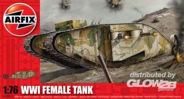 WWI ´´Female´´ Tank · AX 02337 ·  Airfix · 1:76