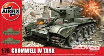 Cromwell Cruiser Tank (new tool) · AX 02338 ·  Airfix · 1:76