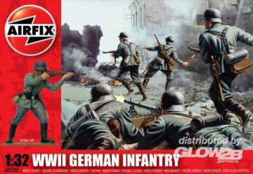 WWII German Infantry · AX 02702 ·  Airfix · 1:32