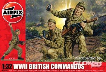 WWII British Commandos · AX 02705 ·  Airfix · 1:32