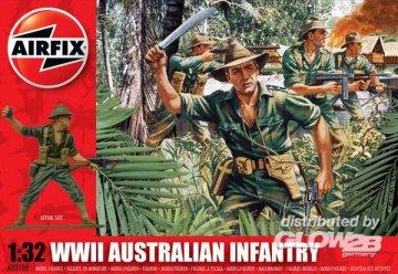 Australian Infantry · AX 02709 ·  Airfix · 1:32
