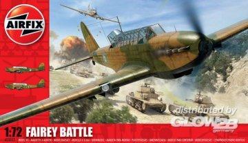 Fairey Battle · AX 03032 ·  Airfix · 1:72