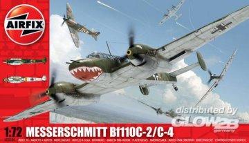 Messerschmitt Bf 110 C/D · AX 03080 ·  Airfix · 1:72