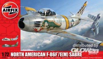 F-86F Sabre · AX 03082 ·  Airfix · 1:72