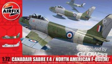 Canadair Mk.4 Sabre · AX 03083 ·  Airfix · 1:72