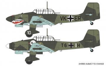 Junkers Ju87 B-1 Stuka · AX 03087A ·  Airfix · 1:72
