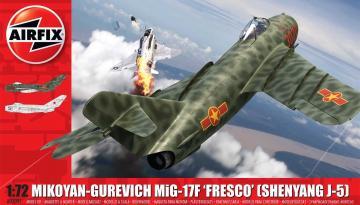 Mikoyan-Gurevich MiG-17 Fresco · AX 03091 ·  Airfix · 1:72