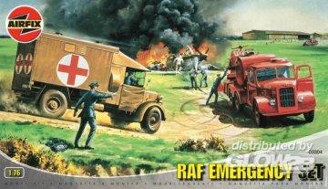 RAF Emergency Set · AX 03304 ·  Airfix · 1:76
