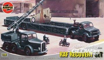 RAF Recovery Set · AX 03305 ·  Airfix · 1:76