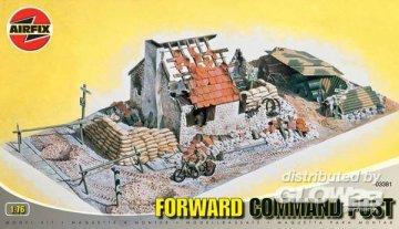 Forward Command Post · AX 03381 ·  Airfix · 1:76