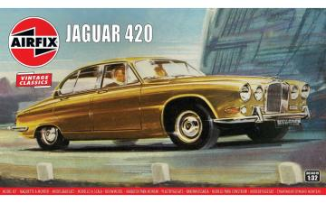 Jaguar 420 - Vintage Classics · AX 03401V ·  Airfix · 1:32