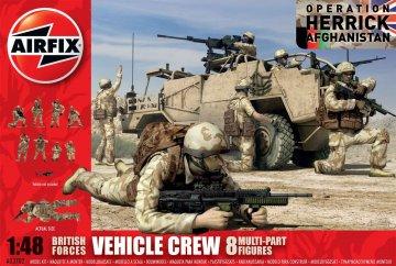 British Vehicle Crew · AX 03702 ·  Airfix · 1:48