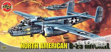 North American B-25 Mitchell · AX 04005 ·  Airfix · 1:72
